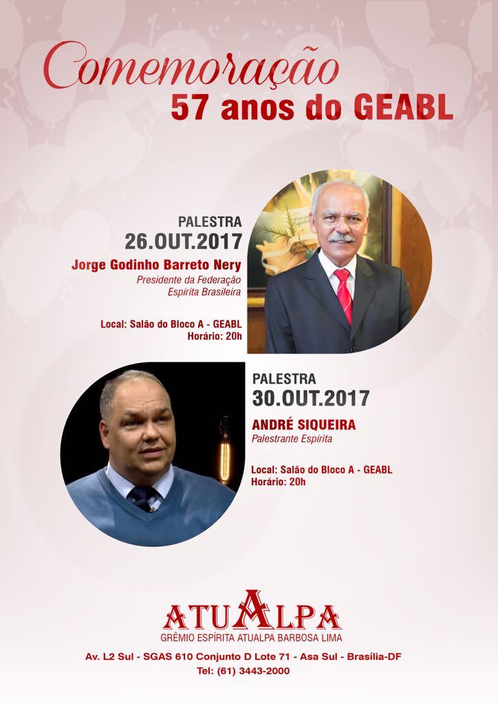 Comemoração de 57 anos do GEABL