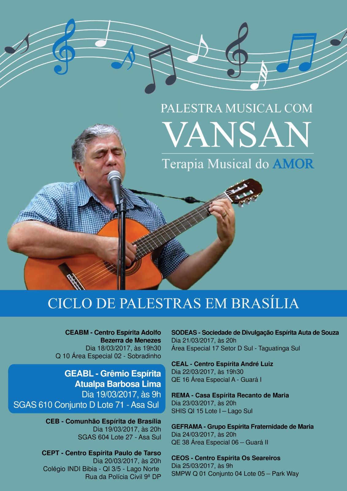 Palestra Musical com Vansan